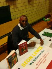 Seon Lewis at the St. John Educator's Scholarship Fund Book Events 2013