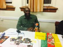 Seon Lewis at the St. John Educator's Scholarship Fund Book Event 2014