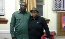 Seon Lewis with his wife at the St. John Educator's Scholarship Fund Book Event 2014